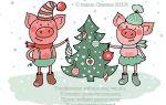 Новогодние поздравления с новым 2019 годом свиньи своими словами